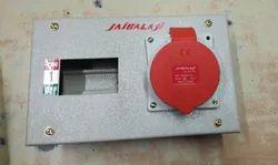 Jaibalaji Steel 32 Amps 5 Pin Metal Box