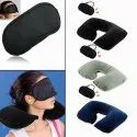 Tourist Neck Travel Pillow With Cushion