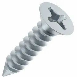 Full Threaded Galvanized Mild Steel Wooden Screw, Size: 1 Inch, Packaging Type: Packet