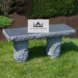 Modern Granite Bench