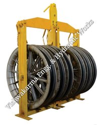Five Sheave Aerial Roller