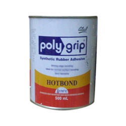 Chemical Grade Poly Grip Synthetic Rubber Bonding Agent, Packaging: 500 mL