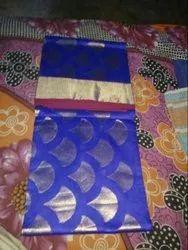 Casual Wear Chanderi Silk Saree with Blouse Piece