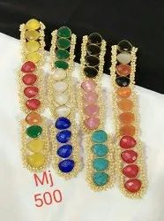 Party Wear Stone Earrings