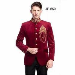 Diwan Saheb JP-650 Mens Jodhpuri Wedding Blazer