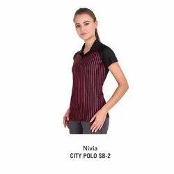 Half Sleeve Nivia City Polo SB-2 T Shirt