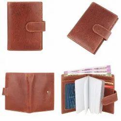 Unisex Leather RFID Blocking Card Holder