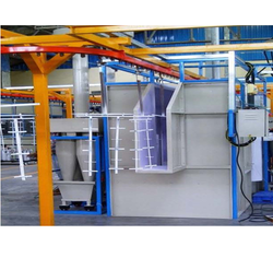 Conveyorised Powder Coating Booth