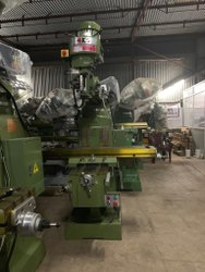 RAJSEN Cast Iron Vertical Turret Milling Machine, Spindle Motor: 3hp, Model Name/Number: Model 4