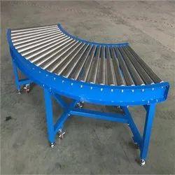 Curve Gravity Roller Conveyors