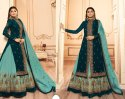 Party Wear Style Salwar Kameez With Heavy Embroidery Work