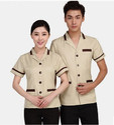 Cotton Cream, Grey Etc. Hotel Attendant Uniform