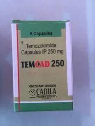 Temcad 250 mg Capsule Temozolomide (250mg)