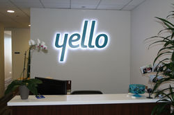 Glow Signage Letter