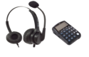 Telephone Dial Pad AR 350 with Headset AR 11N