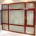 Brown Aluminium Window