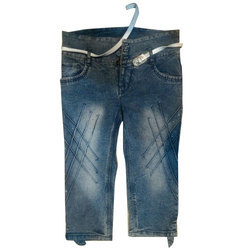 Faded Ladies Casual Denim Capri