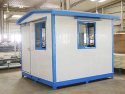 Heavy Duty Sandwich Panel Security Cabin