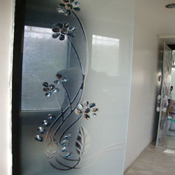 Etched Glass Antique Etched Glass Latest Price
