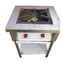 Iron Angular Burner Cooking Range