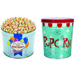 Popcorn Tin Containers