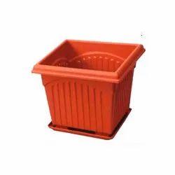 Plastic Vipin Plasticware Square Planters for Hotel