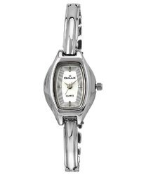 Omax Analog White Dial Women''s Watch - BLS203V003