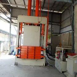 50L Hydraulic Coir Fiber Baling Press