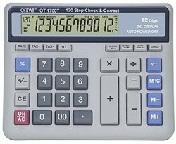 Orpat OT 1700T Check and Correct Calculator