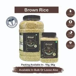 OREAL Brown Rice, Partial Polished