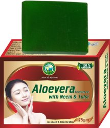 Aloevera with Neem & Tulsi Cleansing Bar