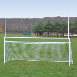 Football Goal Post Aluminum Deluxe with Wheels FP2 New