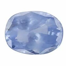 Sky Blue Color VS Clarity Oval - Cut Natural Ceylon Blue Sapphire