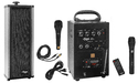 Mega 40 Watts Portable System With Cordless Mike & 1 External Speaker