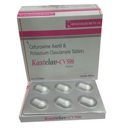 Cefuroxime and Potassium Clavulanate Tablets