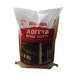 White Aditya Wall Putty, Packaging Type: Pp Bag