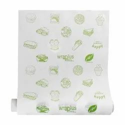 Printed Butter Paper Roll