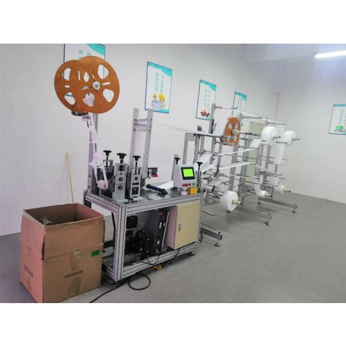 IMPORTED Semi Automatic N95 Masks Making Machine, Production Capacity: 110 Pieces Per Minute