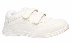 White Bata White School Shoes For Boys