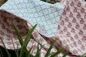 Reversible Floral Printed Baby Boy And Girl Quilt 100% Cotton