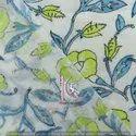 4 Kam Gad Gal Bagru Sanganeri Print 100% Cotton Fabric