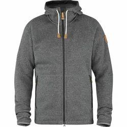 Gray Hooded Jacket