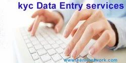 12 Online KYC Data Entry services, Company Manpower: 20-50