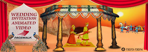 Rajasthani Style Wedding Invitations