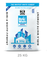 Birla White Cement 25kg, Packaging Type: Hdpe