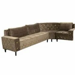 Living Room L Shape Sofa Set