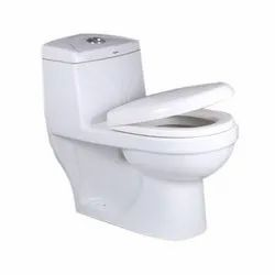 White OSIS Ceramic Toilet Seat