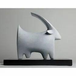 Fiber Deer Statue