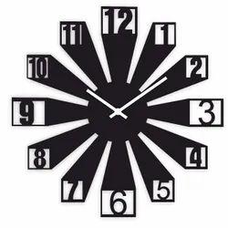Analog MDF Wooden Wall Clock