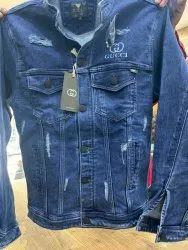 Full Sleeve Casual Jackets Mens Denim Jacket